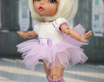 Ballet outfits for 1/8, 1/6 BJD dolls