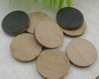 10 pcs -15mm  Laser Wood Cut Charms,Wooden(WL-08)