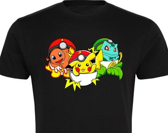 Pokemon Go Inspired T-Shirt - Free UK Delivery