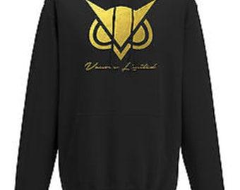 VG Vanoss inspired gold logo hoodie