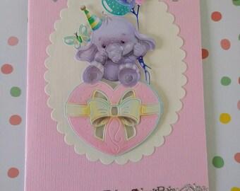 Effie elephant sends congratulations!