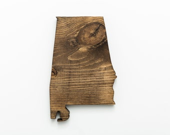 AL | Stained Wood Wall Art