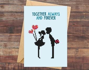 Valentine's love, Valentines Day Card, Valentines Card, Valentine Day Card, Valentines Day, for Him, for Her, for Girlfriend