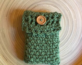 Green Tarot Pouch Free Shipping earth element grounding faerie magick