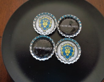 World Of Warcraft Alliance Magnets! FOR THE ALLIANCE!