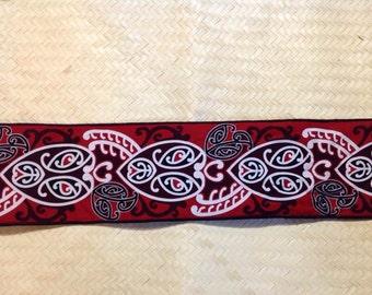 Maori Waist Band With Velcro For Maori Dancers! Perfect For Both Male & Female Of All Ages!