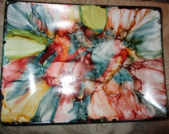 One of a kind decorative tray