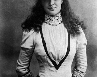 Portrait of Princess Kaiulani of Hawaii in London, England 1895