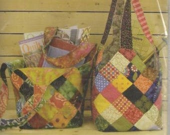 Mondo Bag by Quiltsmart Pattern Create a Bag