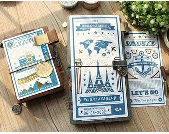 Travelers Notebook Underlay, Hobonichi, Notebook Dashboard Passport & Standard Size