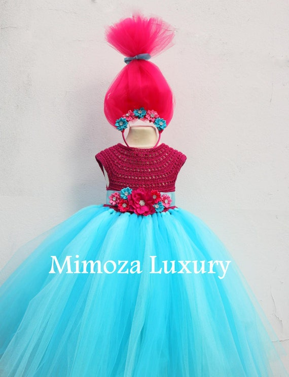trolls birthday dress