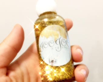 Glitter Infused Hair Oil Treatment