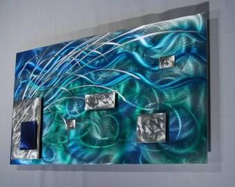 Alex Kovacs - Original Art Metal Wall Sculpture Abstract Home Decor Painting - AK284