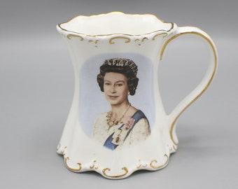 1986 Queen Elizabeth 60th Birthday Mug Commemorative St George Brand
