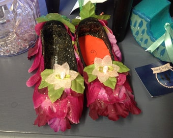Woodland Fairy shoes         (sizes 10 & 11 pictured)