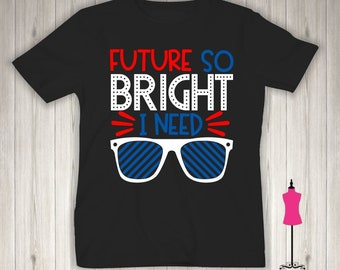 Future So Bright I Need Shades - Bella Canvas - Child Shirt