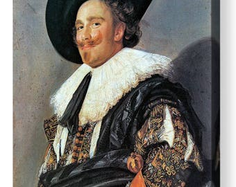"Frans Hals  ""The Laughing Cavalier"" Canvas Box Art/ Print  A4, A3, A2, A1 ++"