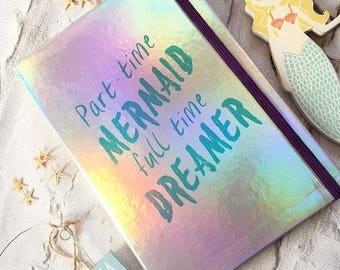 Mermaid Notebook Stationery