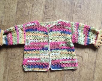 Cardigan, crochet