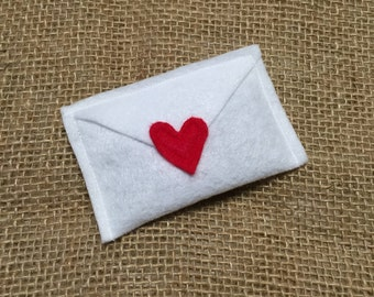 Organic Catnip Love Letter Cat Toy - Valentine's Day Cat Toy