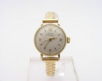 1950's Ladies Girard Perregaux Wrist Watch. 14K Yellow Gold