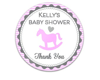 Favor Sticker - Baby Shower Sticker - Baby Shower Label - Favor Label - Thank You Sticker - Thank You Label - Pregnancy Sticker - Baby Label