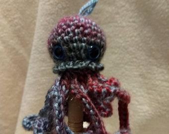 Lulu Jellyfish Octopus finger puppet