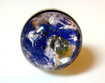 Earth Ring - Planet Earth Jewelry - Space Ring - Earth Day - Out of this World - Photo Ring - Earth - Solar System - Globe Ring - NASA