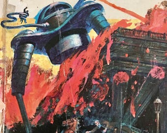 H.G. The War of the Worlds 1964 Book