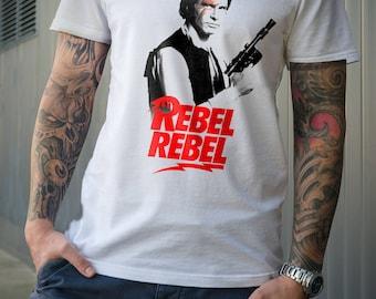 Star Wars HAN SOLO Rebel Rebel Tshirt