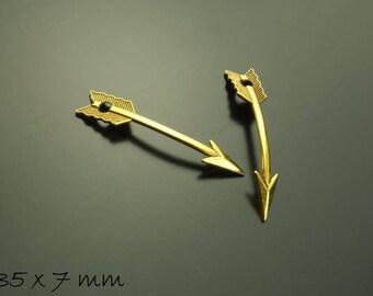 Arrow Arrows Golden 35 x 7 mm