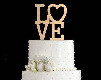 Love cake topper,Wedding Cake Topper,Cake Toppers For Wedding,gold cake topper,rustic cake topper,cake topper,cake topper wedding,629