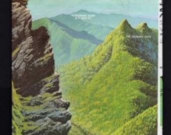 Smoky mountains map Etsy