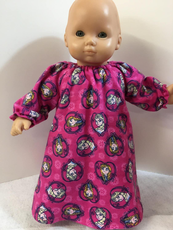 15 o 18 pulgadas ropa de muñecas congelados muñeca Elsa y