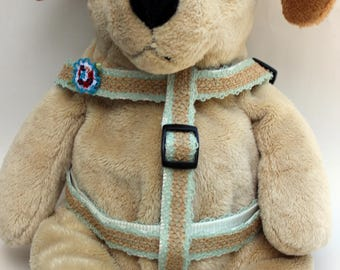 Block Party Bright Step-In Dog Harness