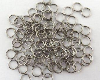 200 6 mm steel fdpg003 toned simple rings