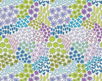 Art Gallery Fabrics - Sweet Meadow Orchid - Berry - Dreamin' Vintage - Jeni Baker - By The Yard
