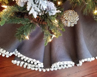 Coastal Christmas Tree Skirt