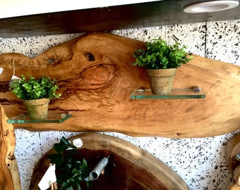 Olive woood wall decor