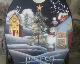 Christmas Magic Tole painting pattern