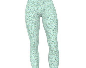 Boy Bunny Suit Pattern, High Waist Women's Stretch Leggings
