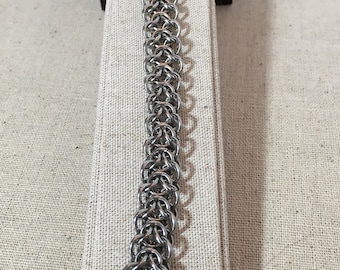 Stainless Steel Elf-weave Chainmaille Bracelet