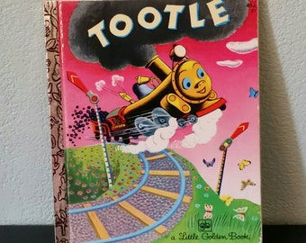 Hardcover Tootle Book, A Little Golden Book Vintage 1974