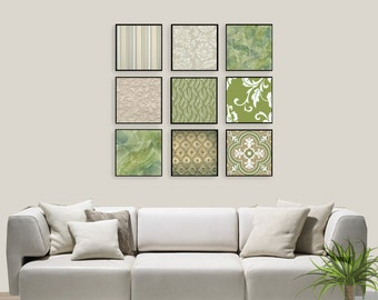 Wall art canvas. Set of 9 canvas pictures.Wall Art. wall decor.Home Decor.Home Wall.Gift new home.Canvas paintings.Wall decoration