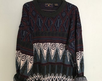 Vintage Oversized Alternative Sweater