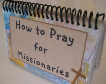 How to Pray for Missionaries, Spiral-bound, Laminated Prayer Cards