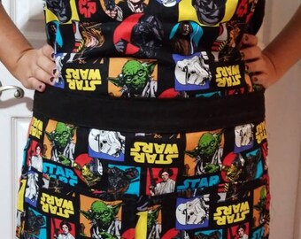 Star wars full apron