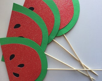 Watermelon Party Center Pieces - One in a Melon Party