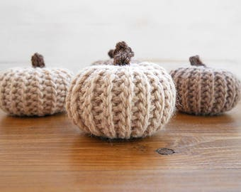 Crochet pattern pumpkin, crochet pumpkins, fall decor, table decor, crochet pumpkin pattern
