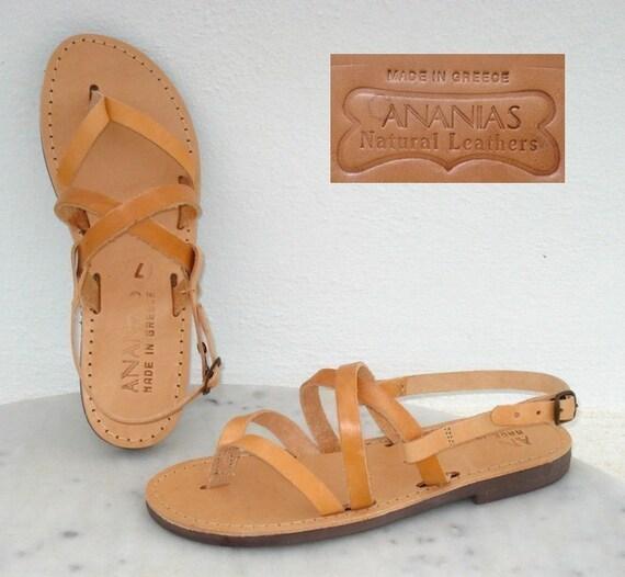 ANANIAS griechische Sandalen römische Grecian handgemachte 0d1f80d8ad